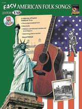 Easy American Folk Songs-Tab W/CD