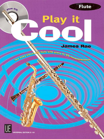 Play It Cool-Flute-Book and CD