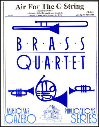 Air for the G String-Brass Quartet