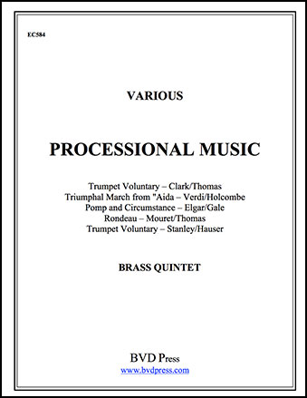 Processional Music for Brass Quintet