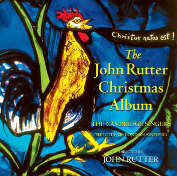 John Rutter Christmas Album Cover