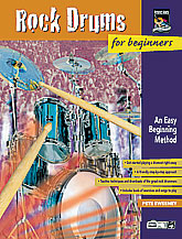 Rock Drums for Beginners-Book and DVD