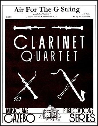 Air for the G String-Clarinet Quart