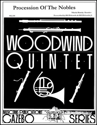 Procession of the Nobles-Woodwind Quintet