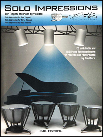 Solo Impressions percussion sheet music cover