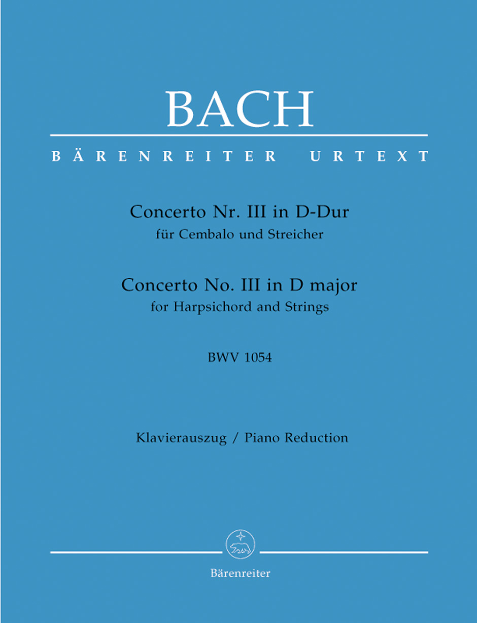 Concerto No. 3 in D Major, BWV1054