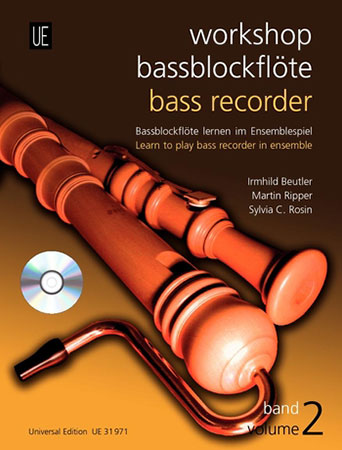 Workshop Bass Recorder No. 2-Book/CD