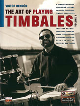 Art of Playing Timbales No. 1-Book and CD