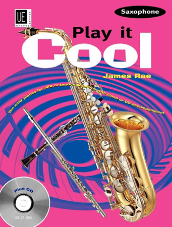 Play It Cool-Saxophone-Book and CD