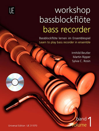 Workshop Bass Recorder No. 1-Book and CD