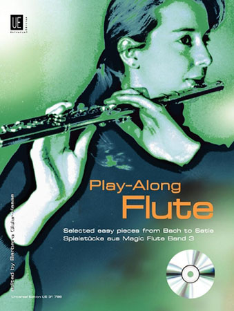 Play along Flute-Book and CD