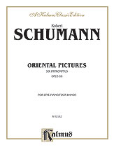 Oriental Pictures Op. No. 66-1 Pn 4 Hnd