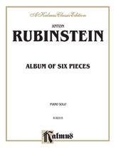 Album of Six Pieces-Piano Solo