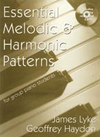Essential Melodic and Harmonic Patterns for Group Piano Students