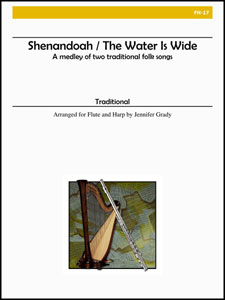 Shenandoah/The Water Is-Flute/Harp