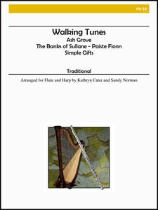 Walking Tunes-Flute/Harp