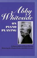 Abby Whiteside on Piano Playing