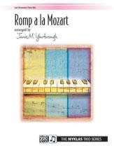 Romp a La Mozart-1 Pno 6 Hands