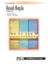 Havah Nagila-1 Pno 6 Hands