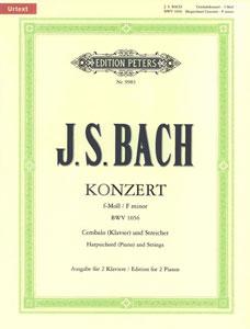 Concerto in F Minor BWV1056-2 Pno