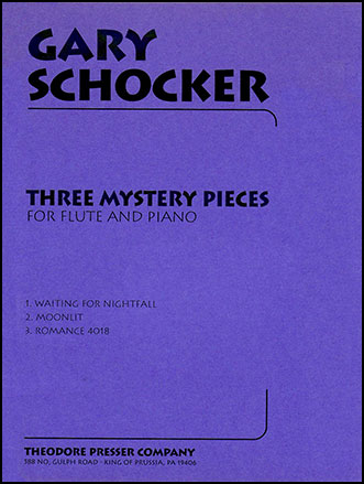 Three Mystery Pieces-Flute/Piano