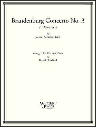 Brandenburg Concerto No. 3, Mvt. 1