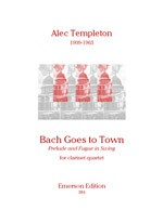 Bach Goes to Town-Clarinet Quartet