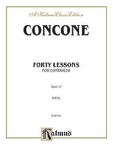 40 Lessons-Contralto