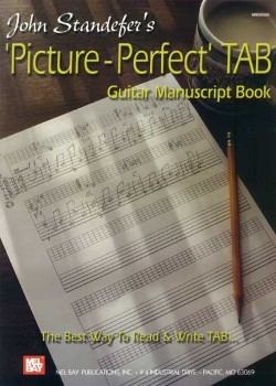 Picture Perfect Tab Guitar Manuscri