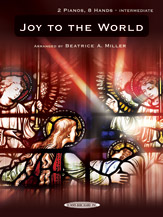 Joy to the World-2 Pianos 8 Hands