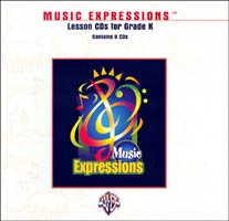 Music Expressions Kindergarten Lesson CD Pack