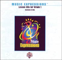 Music Expressions Grade 1 Lesson CD Pack