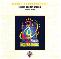 Music Expressions Grade 2 Lesson CD Pack