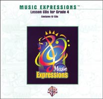 Music Expressions Grade 4 Lesson CD Pack