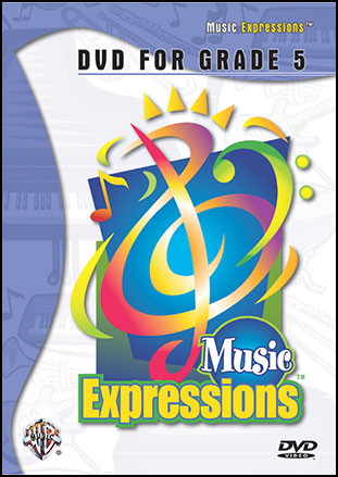 Music Expressions Grade 5 DVD and Video