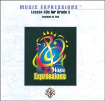 Music Expressions Grade 5 Lesson CD Pack