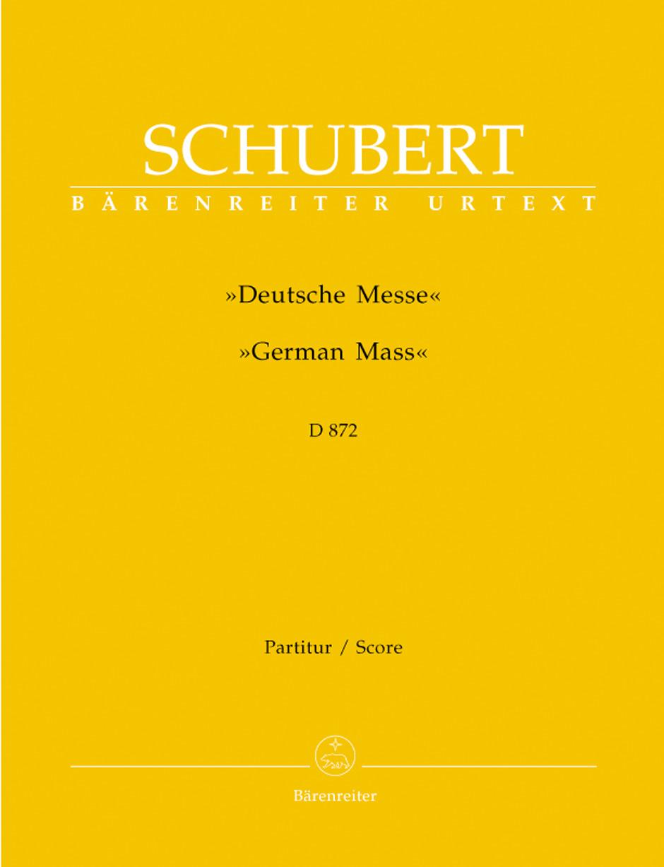 German Mass-Full Score