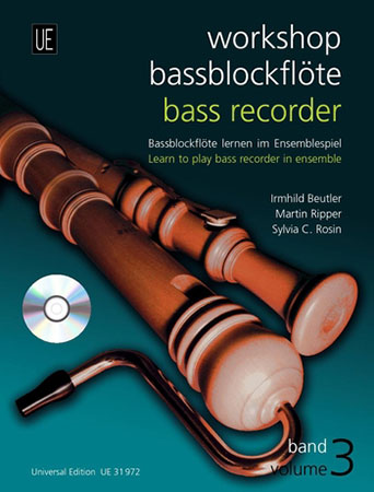 Bass Recorder Workshop No. 3-Book and CD