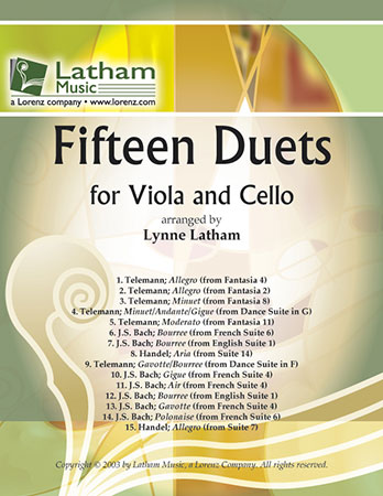 15 Duets for Viola and Cello