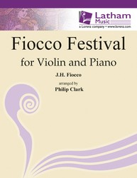 Fiocco Festival-Violin/Piano