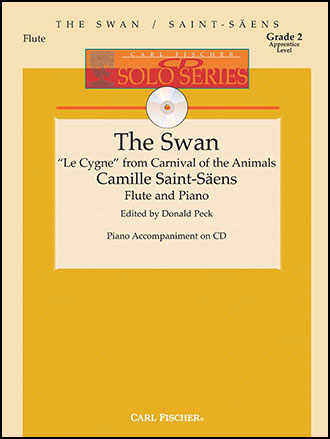 The Swan (Flute Solo with Piano with CD | J W  Pepper Sheet