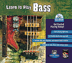 Learn to Play Bass-CD Rom