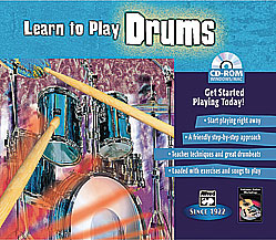 Learn to Play Drums-CD Rom