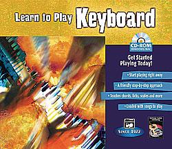 Learn to Play Keyboard-CD Rom