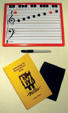 EZ Notes Magnetic Music Board