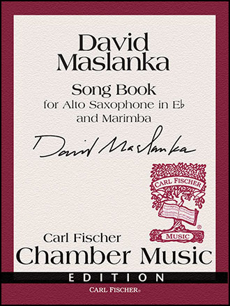 Song Book-Alto Sax/Marimba