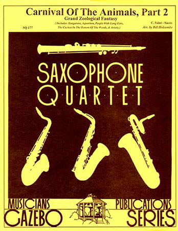 Carnival of the Animals No. 2-Sax Quartet