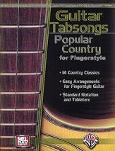 Guitar Tabsongs - Popular Country