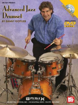 Advanced Jazz Drumset-Book and DVD