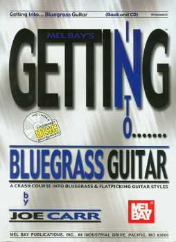 Getting into Blugrass Guitar-Book and CD